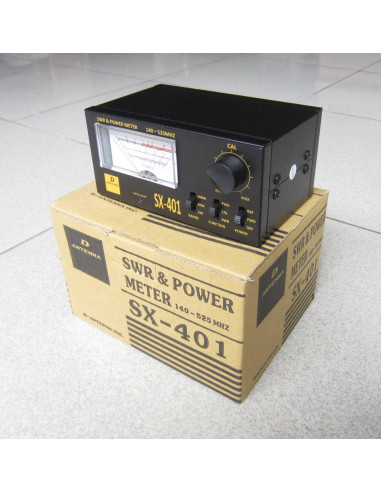 D'Antenna SWR dan Power Meter SX-401